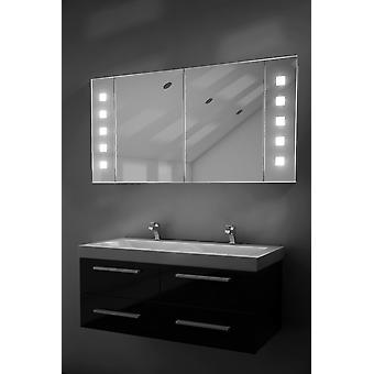 Vishnu huurteenpoistolaitetta kylpyhuone kaappi ja huurteenpoistolaitetta, anturi & partakone k124