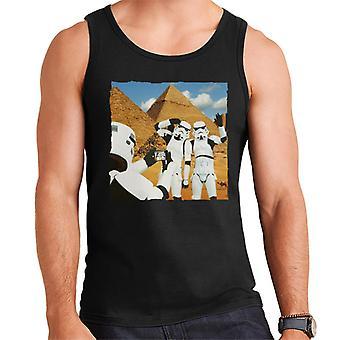 Original Stormtrooper Selfie Pyramids Men's Vest