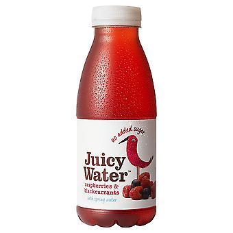 This Juicy Water Raspberries and Blackcurrant