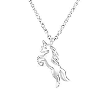 Unicorn - 925 Sterling Silver Plain Necklaces - W36723x