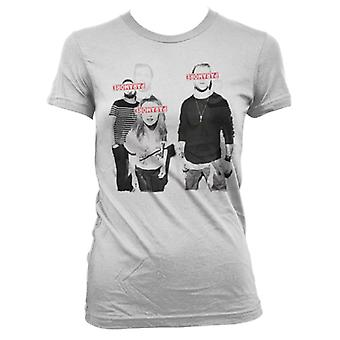 Paramore Eyes Covered T-Shirt Girlie