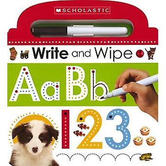 Écrire et essuyer ABC 123 par Scholastic - livre 9780545915359