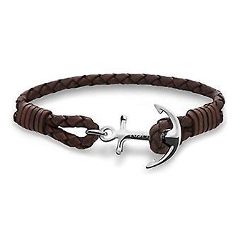 Tom Hope Havana Brown Sterling Silver Medium Bracelet TM0211