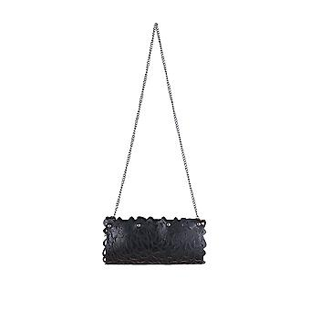 Lovemystyle Black Handbag With Lasercut Design
