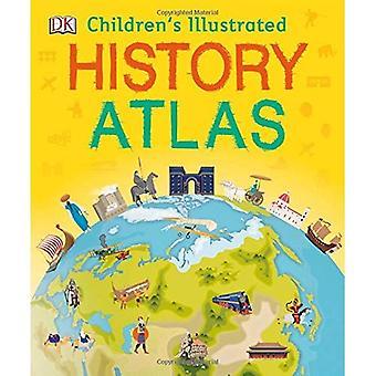 Children's geïllustreerde geschiedenis Atlas