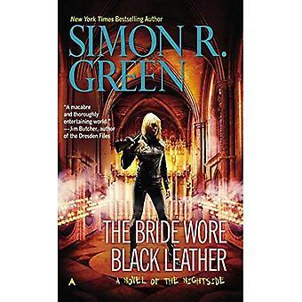 The Bride Wore zwart leer