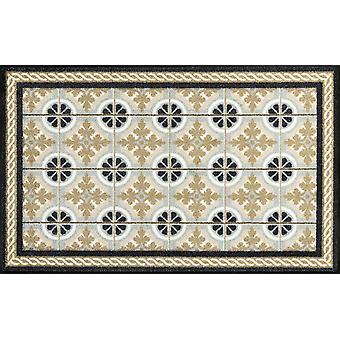 Pese + kuiva keittiö matto keittiölaattansa 75 x 120 cm pestävä lattialla matto