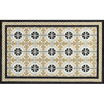 wassen + droge keuken tapijt keuken tegels 75 x 120 cm wasbaar Vloermatten