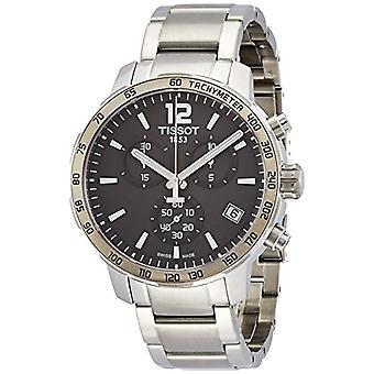 Man-chronograph wrist watch Tissot stainless steel T095 417.11 .067 .00 steady rest.