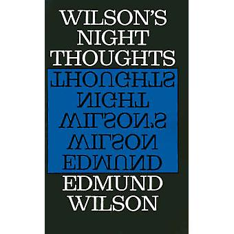 Night Thoughts Pa by Edmund Wilson - 9780374503284 Book