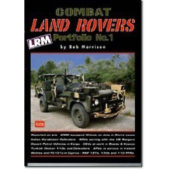 Combat Land Rovers Portfolio No.1 by Bob Morrison - R. M. Clarke - 97