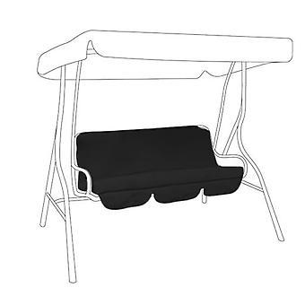 Gardenista® preto dossel de substituição para 3 lugares swing Seat