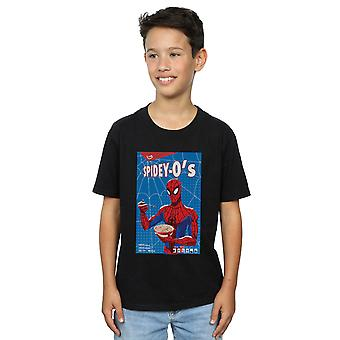 Marvel Boys Spider-Man Into The Spider-Verse Spidey-O es T-Shirt
