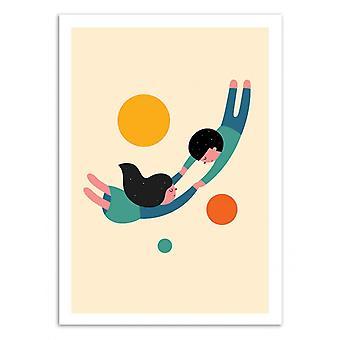 Art-Poster - Won-apos;t puścić - Andy Westface
