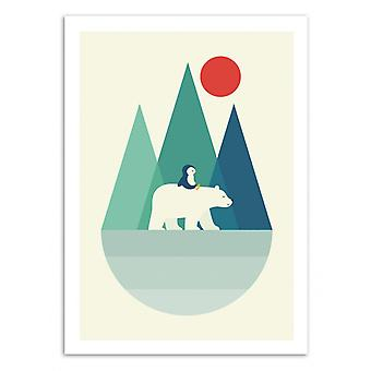 Art-Poster - Bear You - Andy Westface 50 x 70 cm