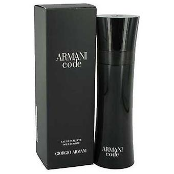 Armani Code By Giorgio Armani Eau De Toilette Spray 4.2 Oz (men) V728-435745