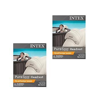 Intex PureSpa Head Rest 2 Pack Bundle