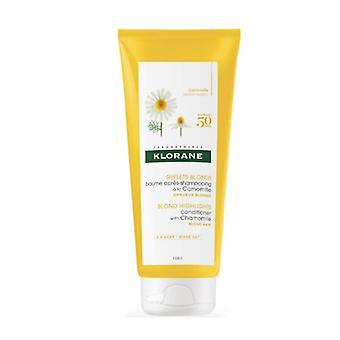 Bálsamo de manzanilla Klorane para cabello rubio 200ml