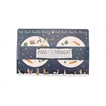 CGB Giftware Christmas Doggy Placemat| Gifts From Handpicked