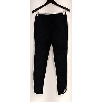 Slimming Options for Kate Mallory Leggings Legging Zip Tulip Hem Gray A430703