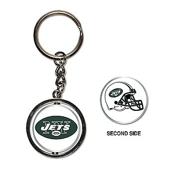 Wincraft SPINNER Keychain - NFL New York Jets
