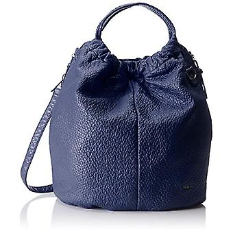 Boscha BO-1084-AA Blue Women's shoulder bag (Blueberry 029)) 18x43x42 cm (B x H x T)