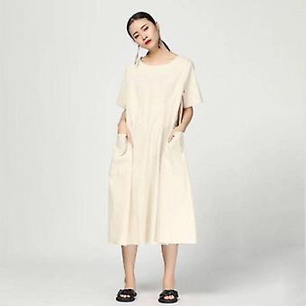 Oversize A-line Sukienka z łydki środkowej