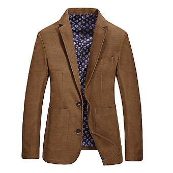 Allthemen Men-apos;s New Style Automne Single-Breasted 2-Buttons Veste de costume solide
