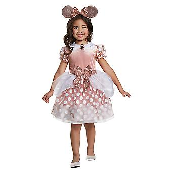 Gold Minnie Mouse сostume for toddlers
