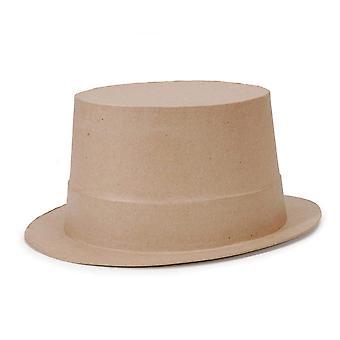 27.5 cm volledige grootte Top Hat papier mache vorm voor ambachten