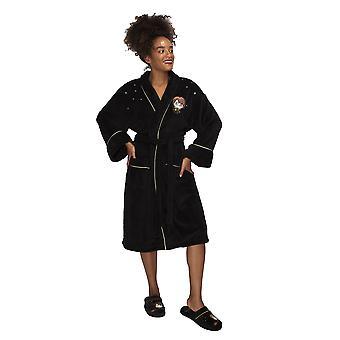 Womens Damen Harry Potter Kawaii Fleece Bademantel Morgenmantel eine Größe offiziell lizensierte Ware