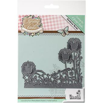 Find It Trading Yvonne Creations Die-Dandelion Border, Springtastic