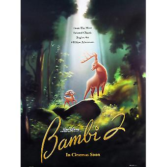 Bambi Ii (Double-Sided Advance) Original Cinema Poster