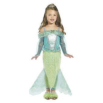 Mädchen Prinzessin Meerjungfrau Kostüm
