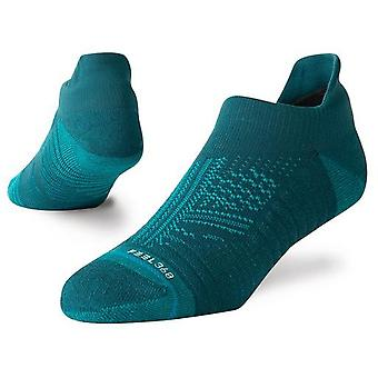 Stance Uncommon Train Tab No Show Socks in Teal