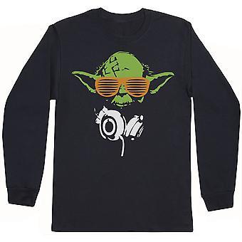 Yoda-mens Långärmad T-shirt