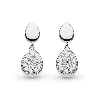 Kit Heath Coast Pebble Glisten Cubic Zirconia Drop Boucles d'oreilles 60188CZ029