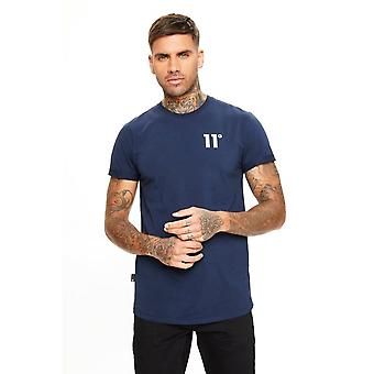 11 Degrees 11d Core T Shirt Navy