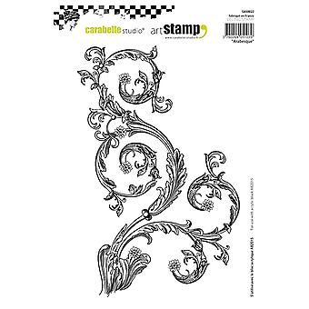 Carabelle Studio Cling Stamp A5-Arabesque