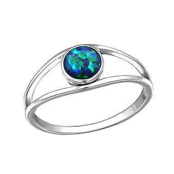 Round - 925 Sterling Silver Cubic Zirconia Rings - W31458X