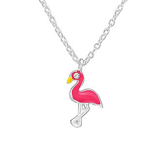 Flamingo - 925 Sterling Silver Necklaces - W39081X