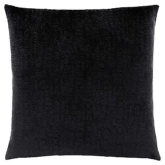 """18"""" x 18"""" Black, Mosaic Velvet - Pillow"""