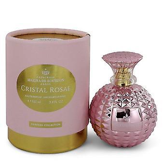 Marina de bourbon cristal rosae eau de parfum spray by marina de bourbon 547827 100 ml
