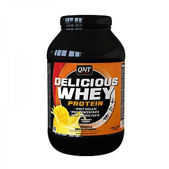 QNT Delicious Whey Protein Powder Bodybuilding Muscle Mass Growth (Banana) 908g