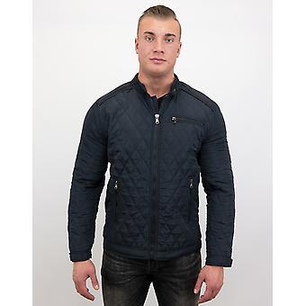 Coat Short Model - Slim Fit Jack - Blue