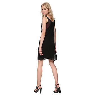 Desigual Women's Julie Chiffon Layered Dress