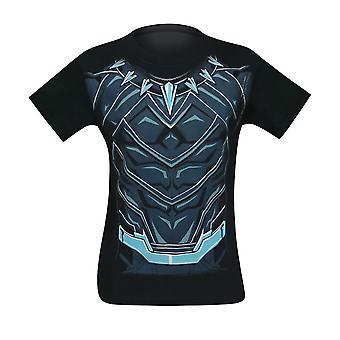Black Panther Suit-Up Men's Camiseta Traje