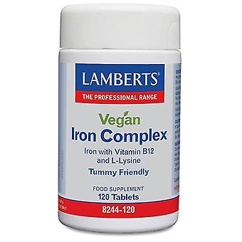 Lamberts Vegan Iron Complex Tablets 120 (8244-120)