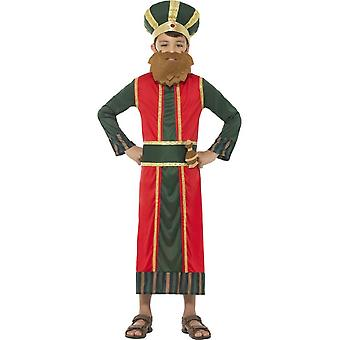 King Gaspar Costume, Christmas Nativity Wise Man, Large Age 10-12
