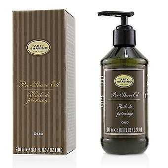 Pre Shave Oil - Oud (with Pump) - 240ml/8.1oz